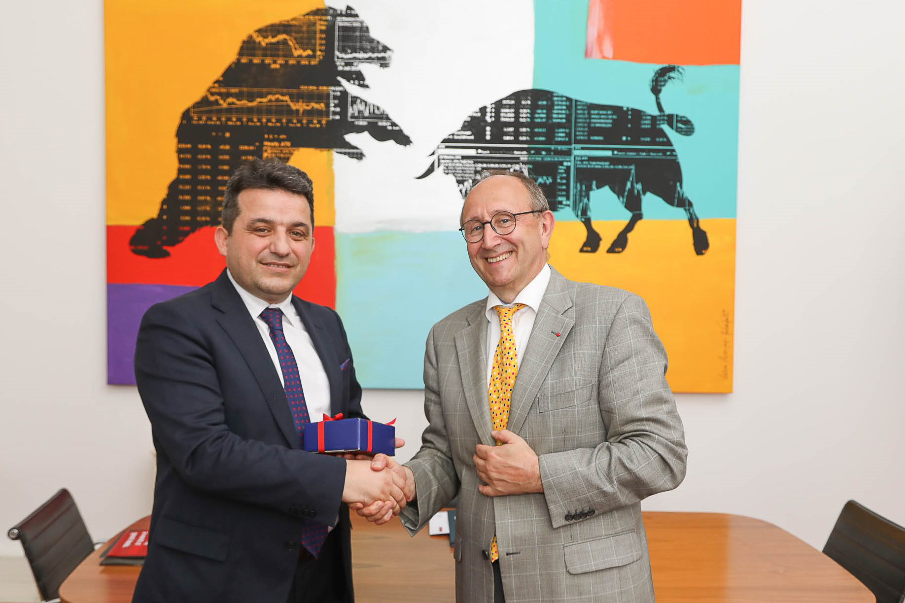 Albanian Securities Exchange and Vienna Stock Exchange join